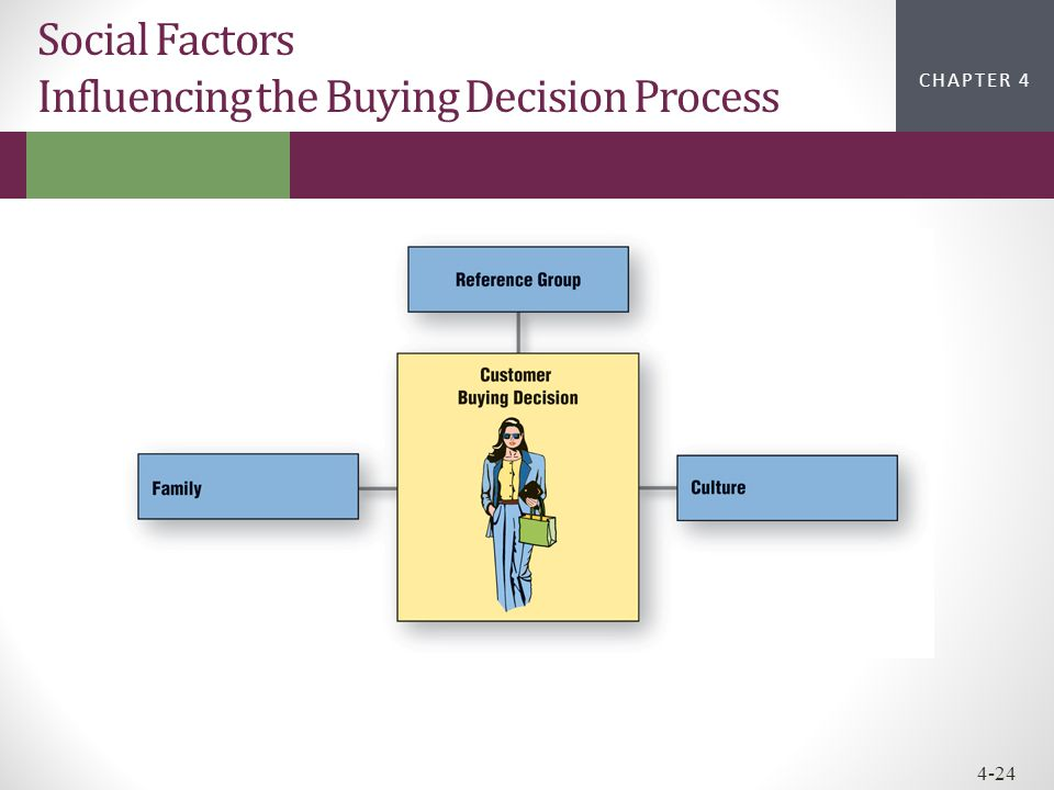 Social Factors Influencing the Buying Decision Process