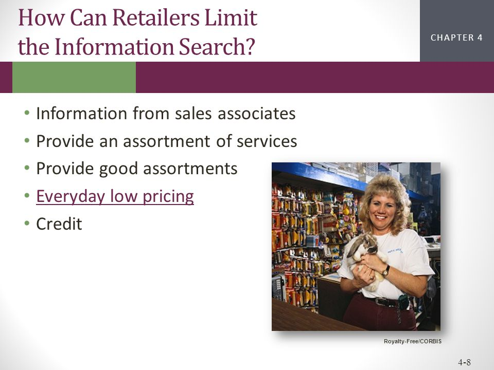 How Can Retailers Limit the Information Search