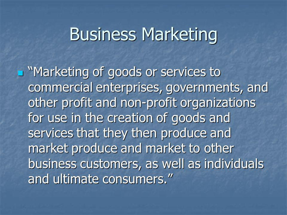 Business Marketing