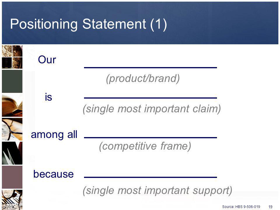 Positioning Statement (1)