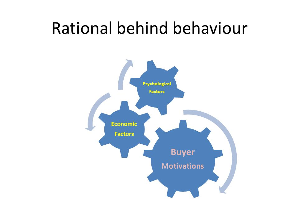 Rational behind behaviour