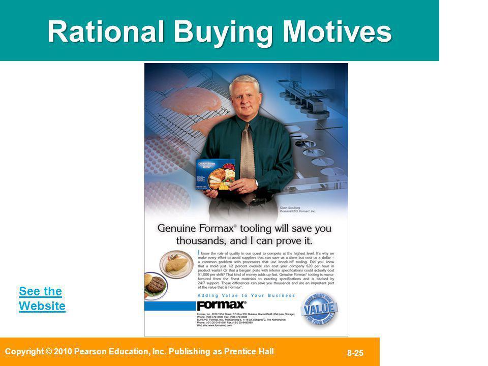 Rational Buying Motives