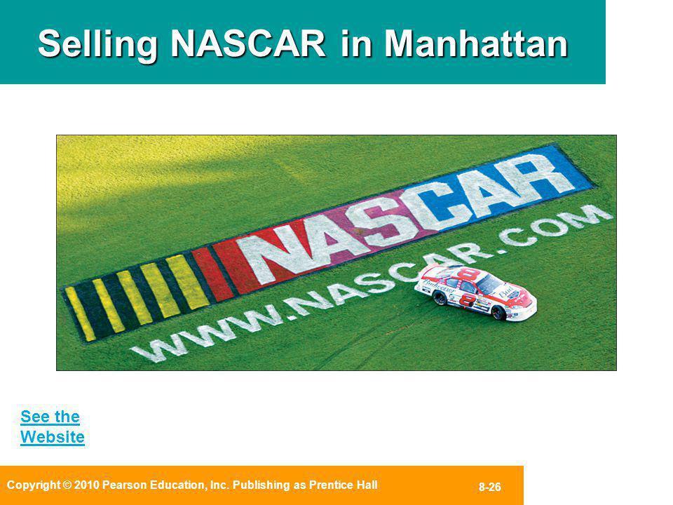 Selling NASCAR in Manhattan