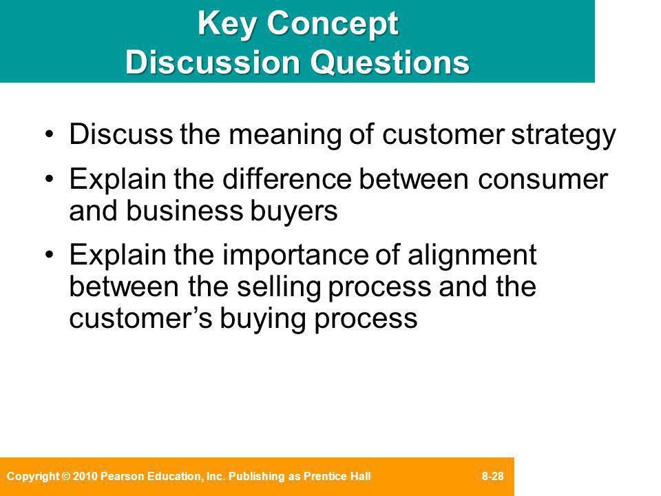 Key Concept Discussion Questions