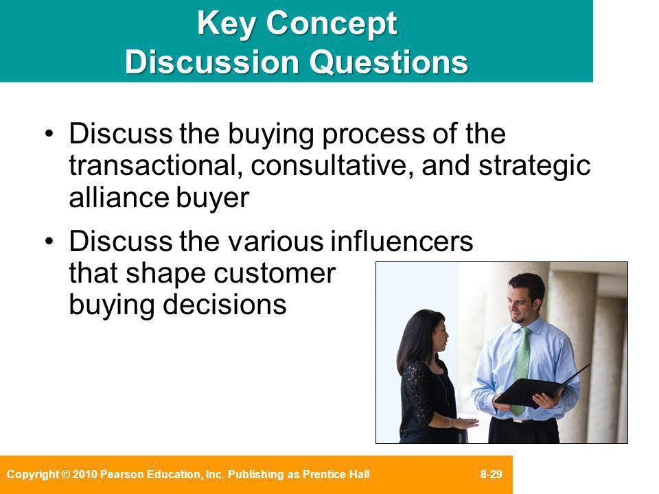Key Concept Discussion Questions