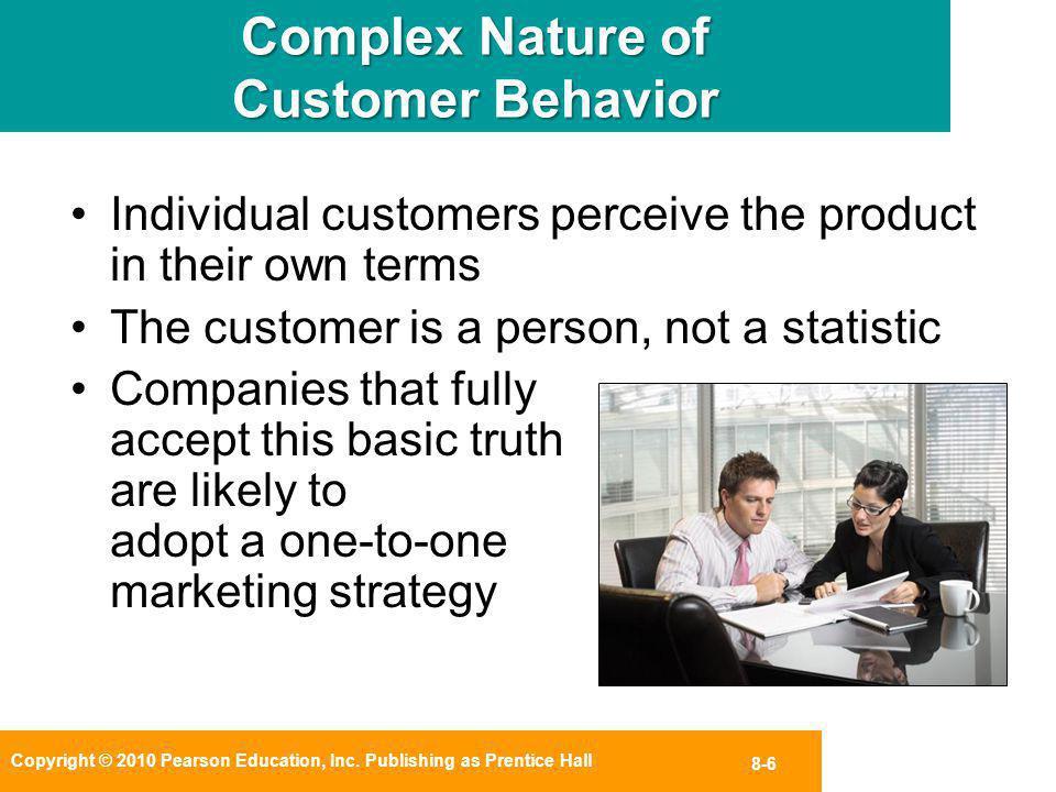 Complex Nature of Customer Behavior