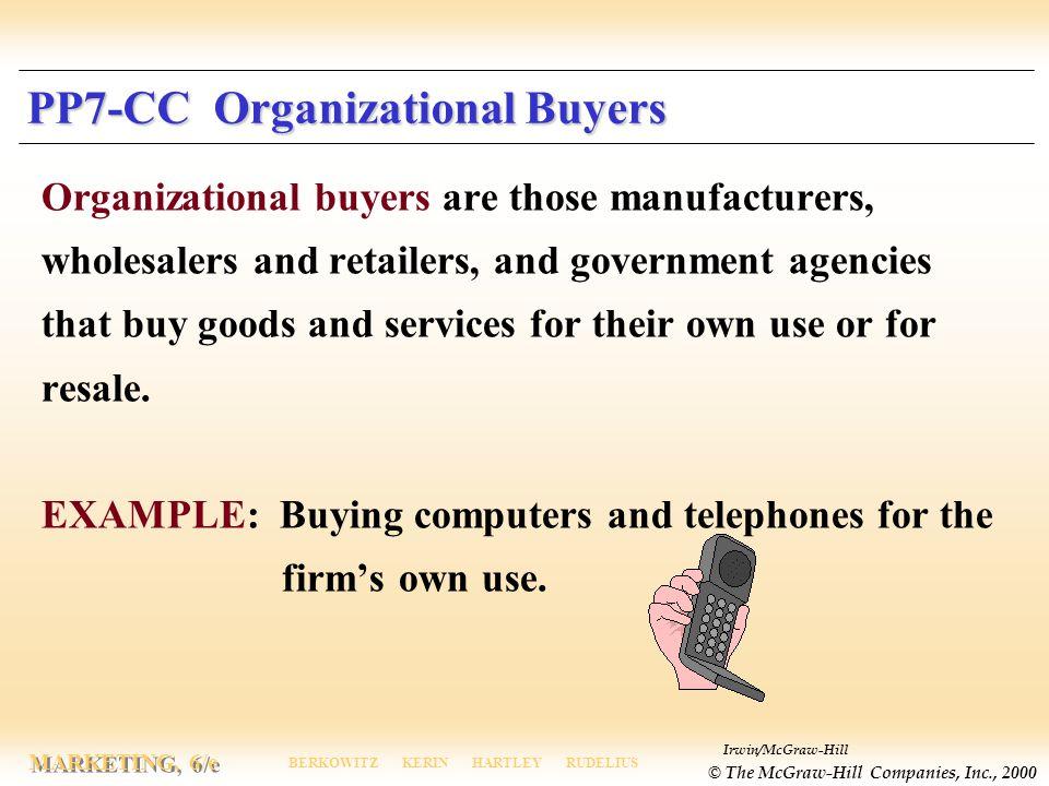 PP7-CC Organizational Buyers