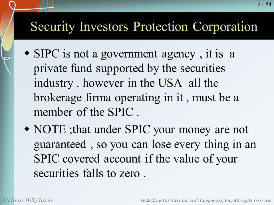 Security Investors Protection Corporation