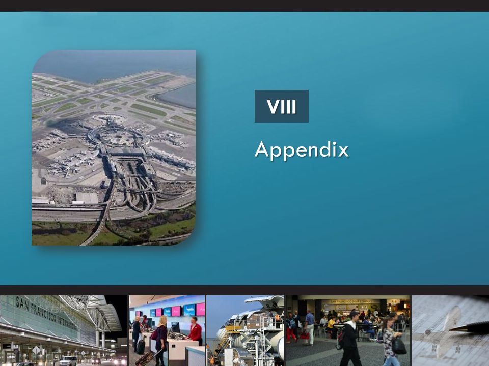 VIII Appendix