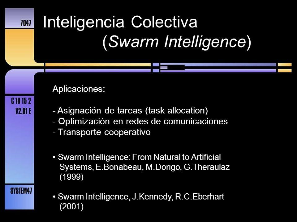 Inteligencia Colectiva (Swarm Intelligence)