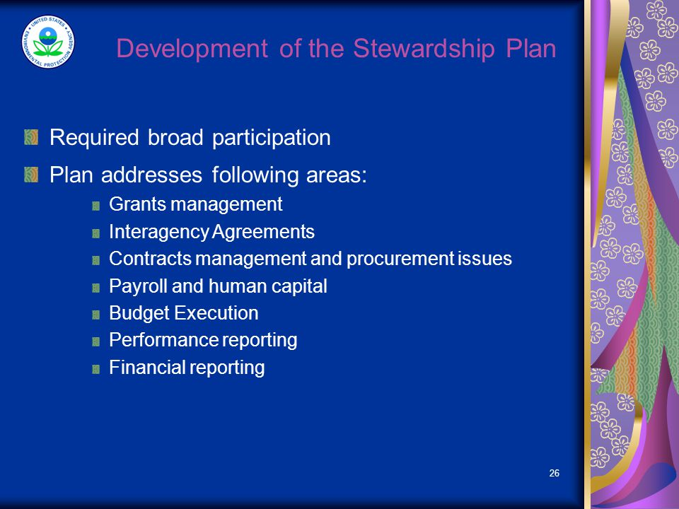 DRAFT RECOVERY ACT STEWARDSHIP PLAN