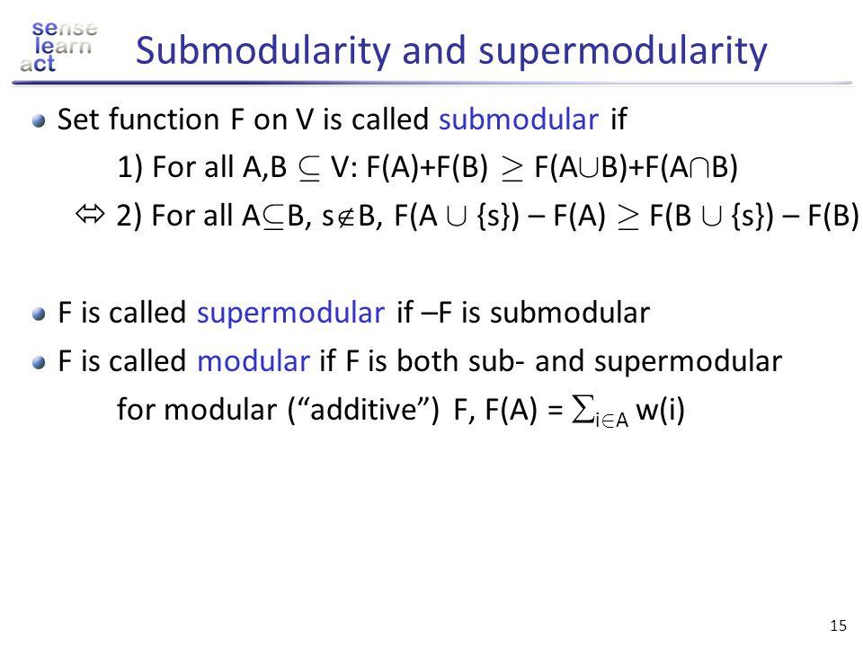 Submodularity and supermodularity