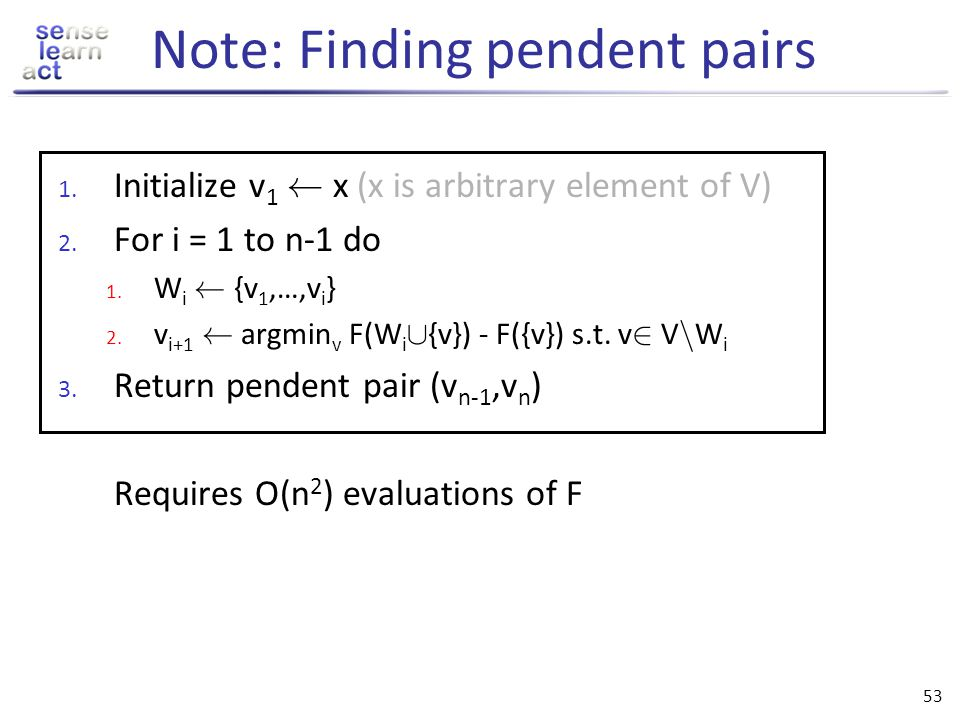 Note: Finding pendent pairs