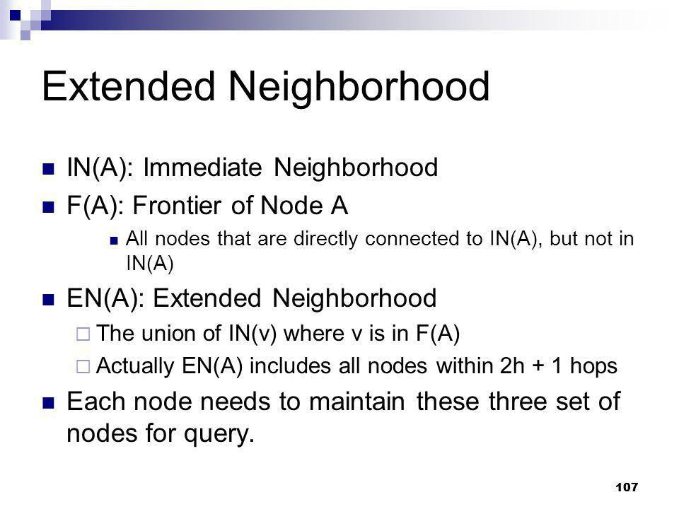 Extended Neighborhood
