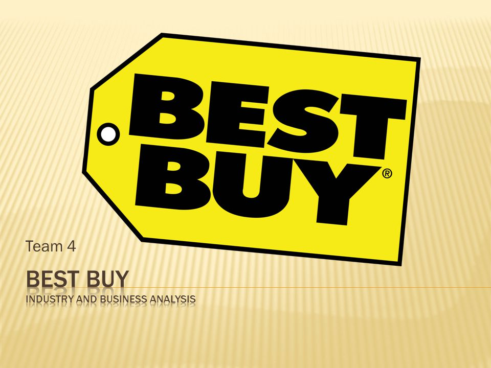 Best Buy Industry and Business Analysis