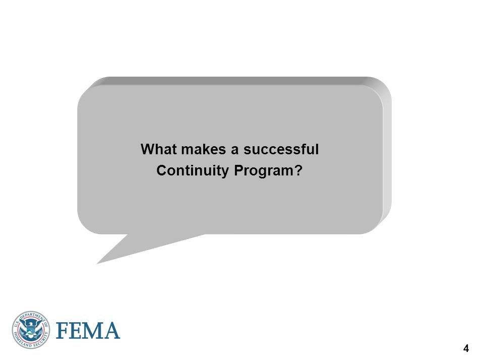 What makes a successful Continuity Program