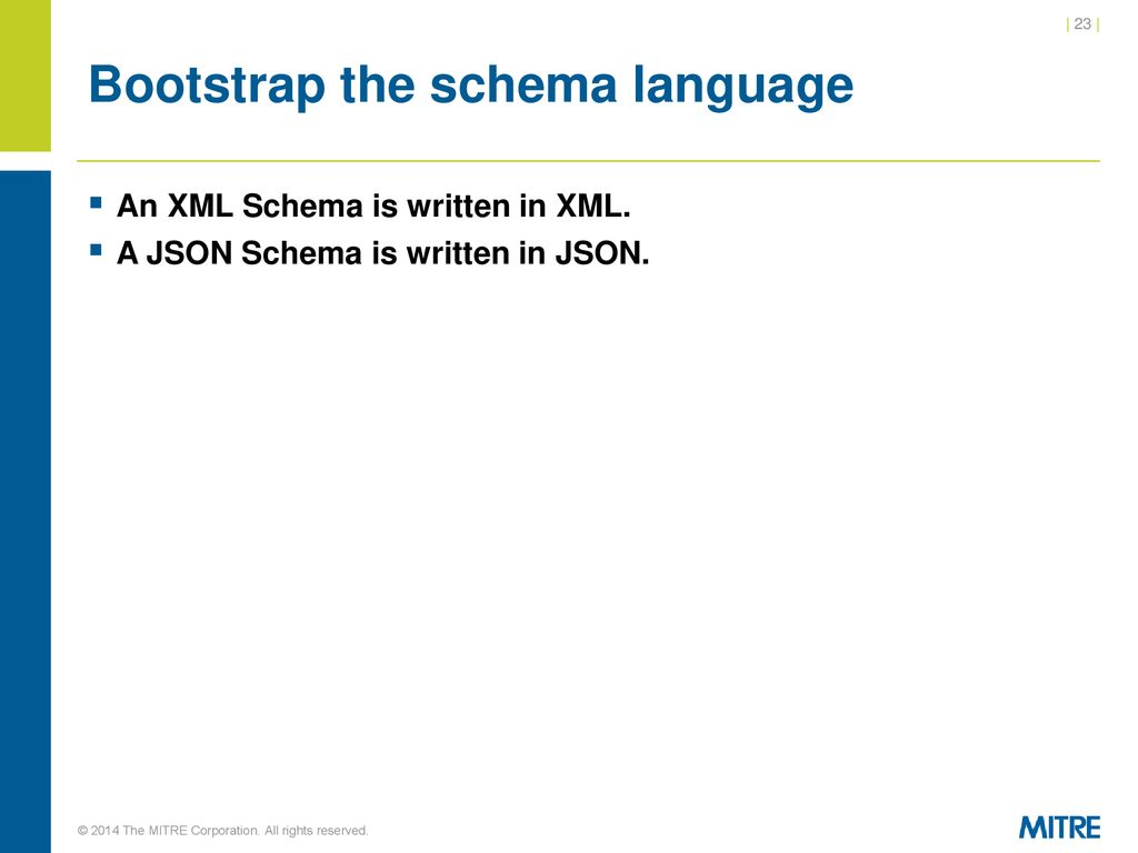JSON and JSON-Schema for XML Developers - ppt download