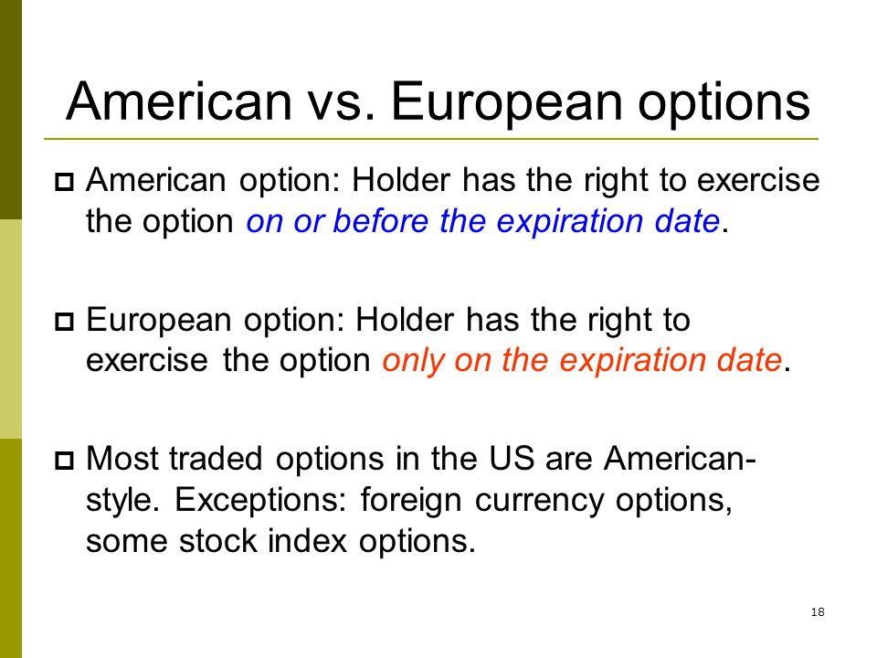 how to exercise american put option