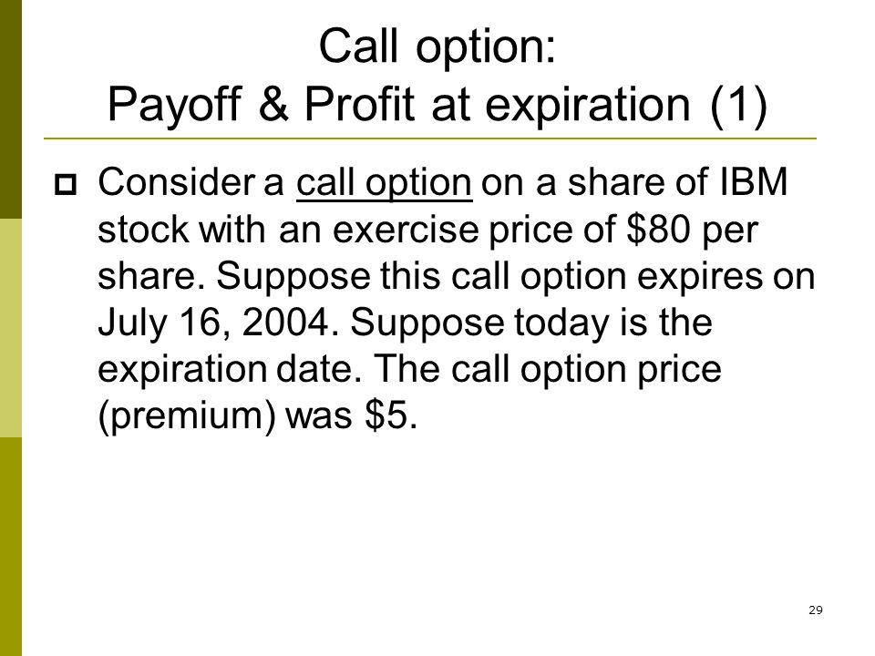Stock options expiration day