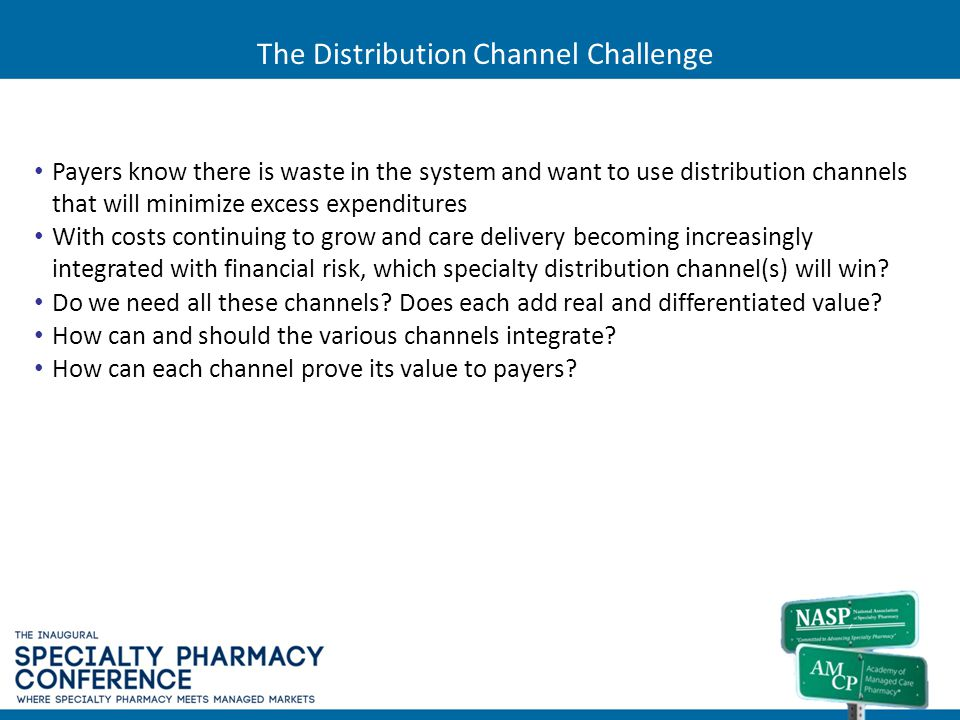 The Distribution Channel Challenge