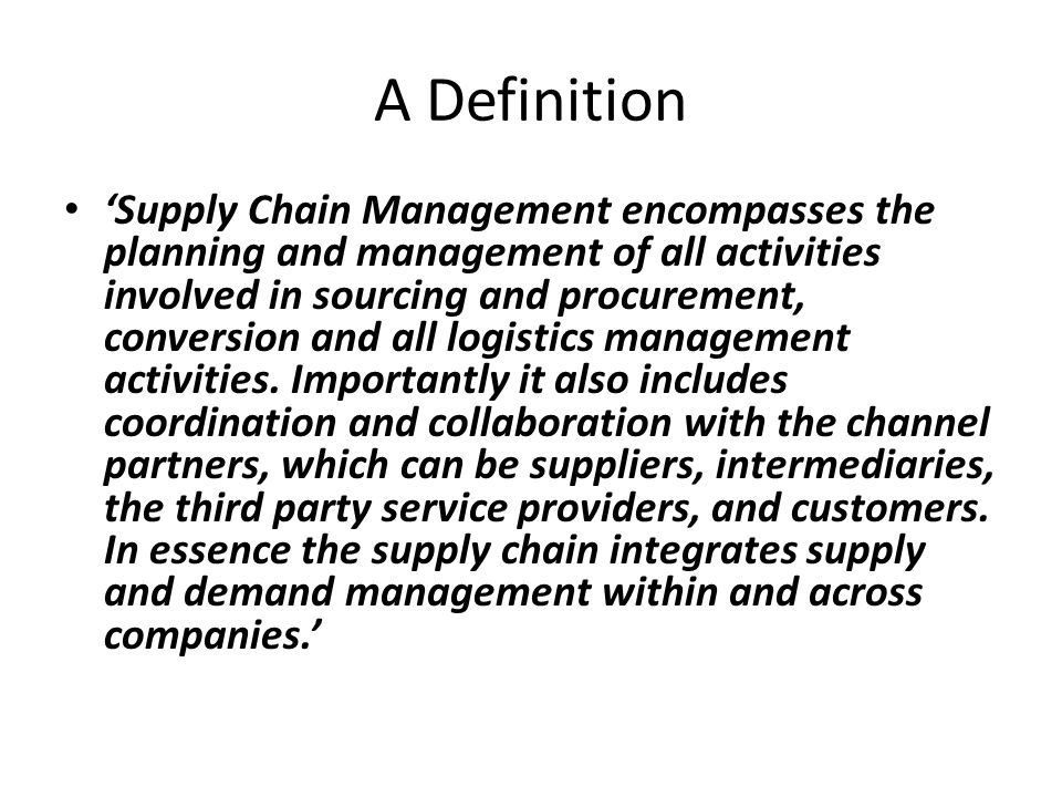 a description of the chain of supply management purchasing Highly motivated to assist and support the purchasing, logistics, and business planning  job description: supply chain intern  business student with/or pursuing.