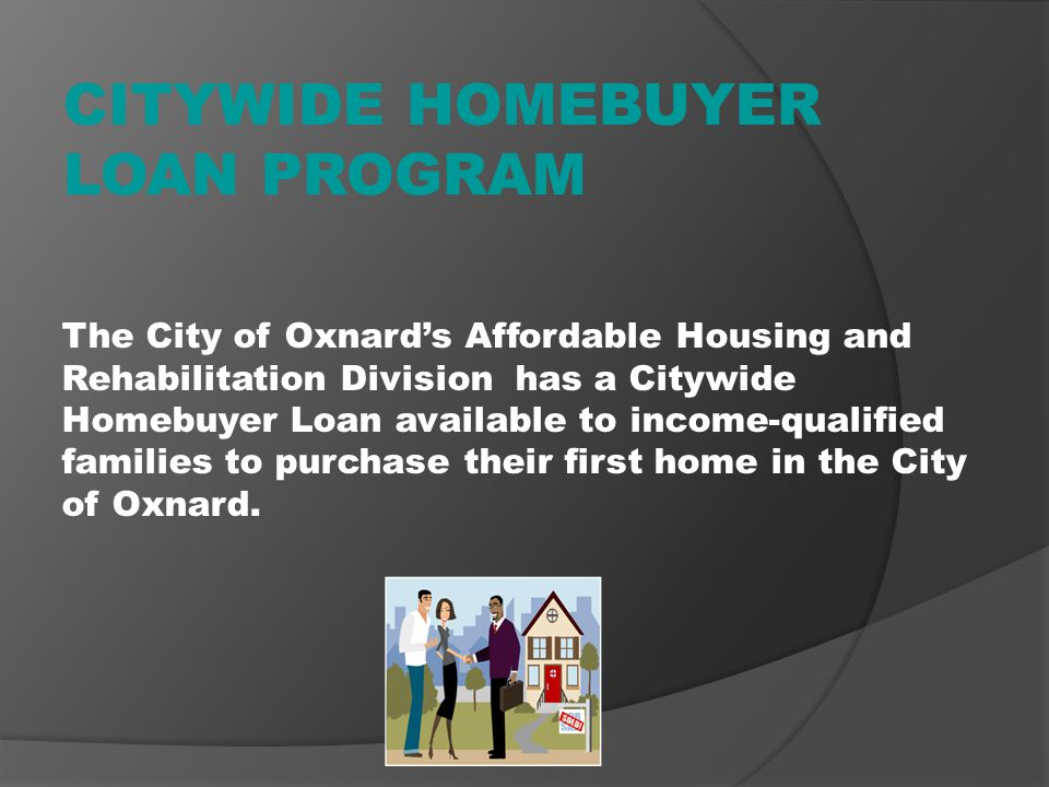 CITYWIDE HOMEBUYER LOAN PROGRAM