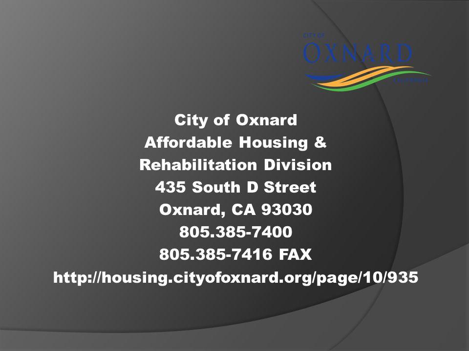 Rehabilitation Division