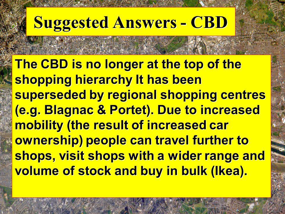 Suggested Answers - CBD