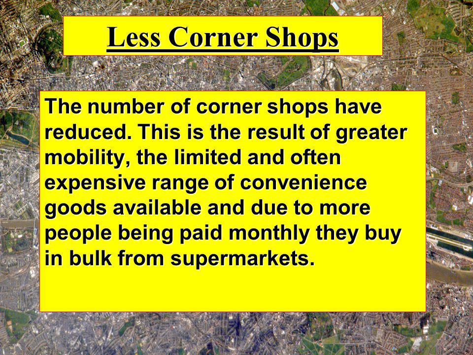 Less Corner Shops