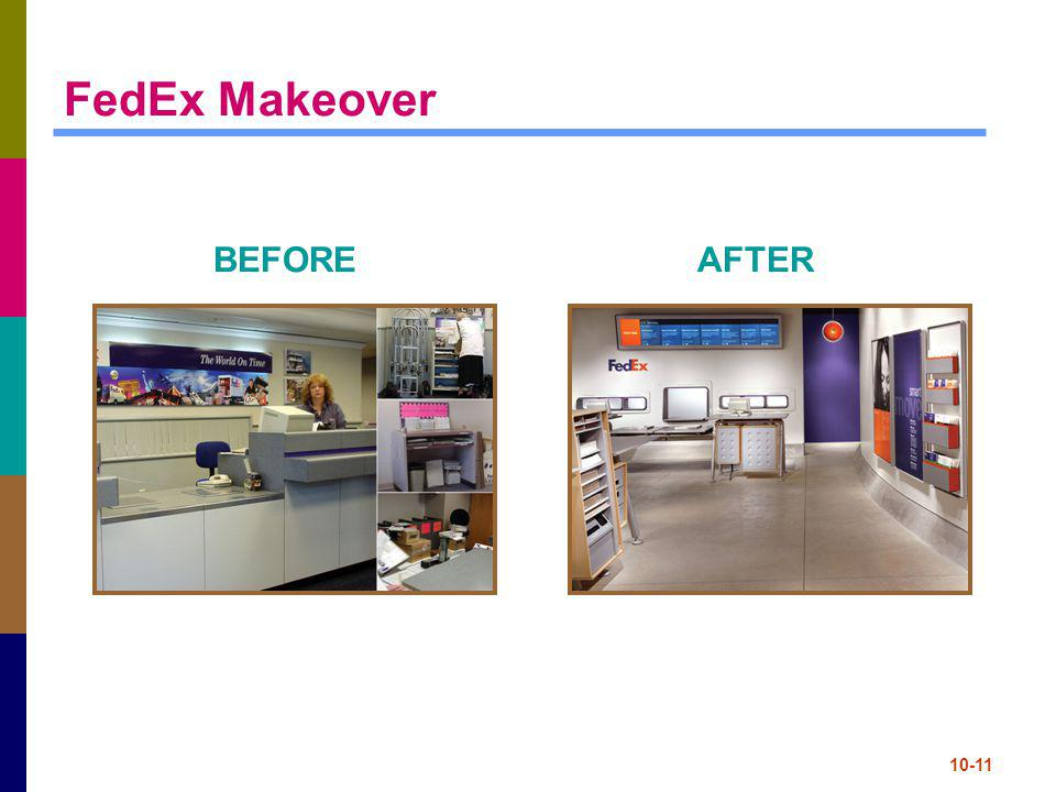 FedEx Makeover BEFORE AFTER