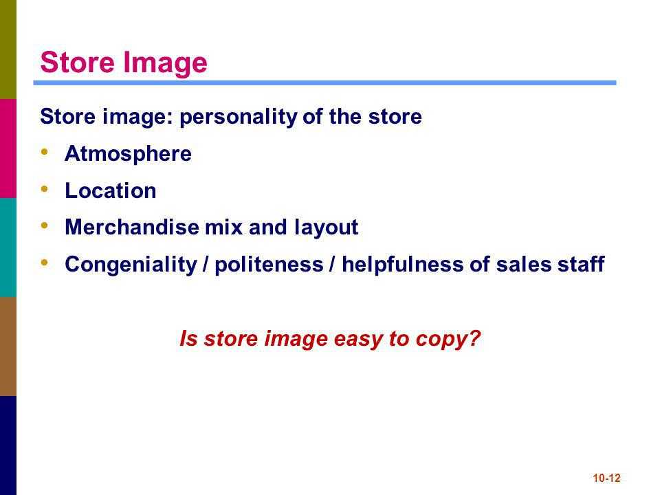 Is store image easy to copy