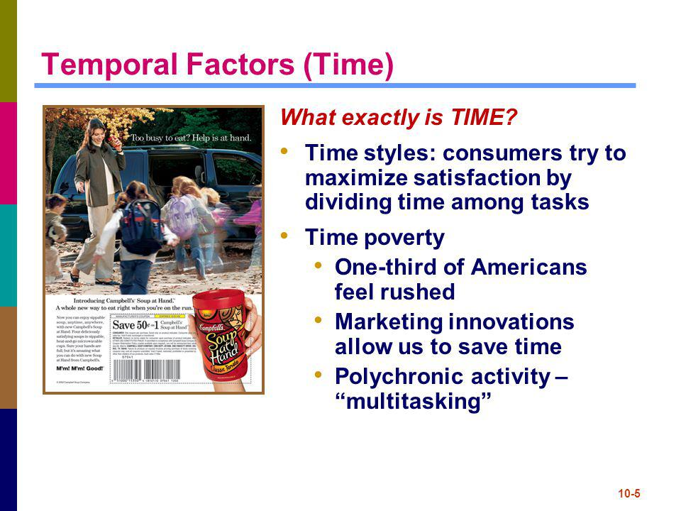 Temporal Factors (Time)