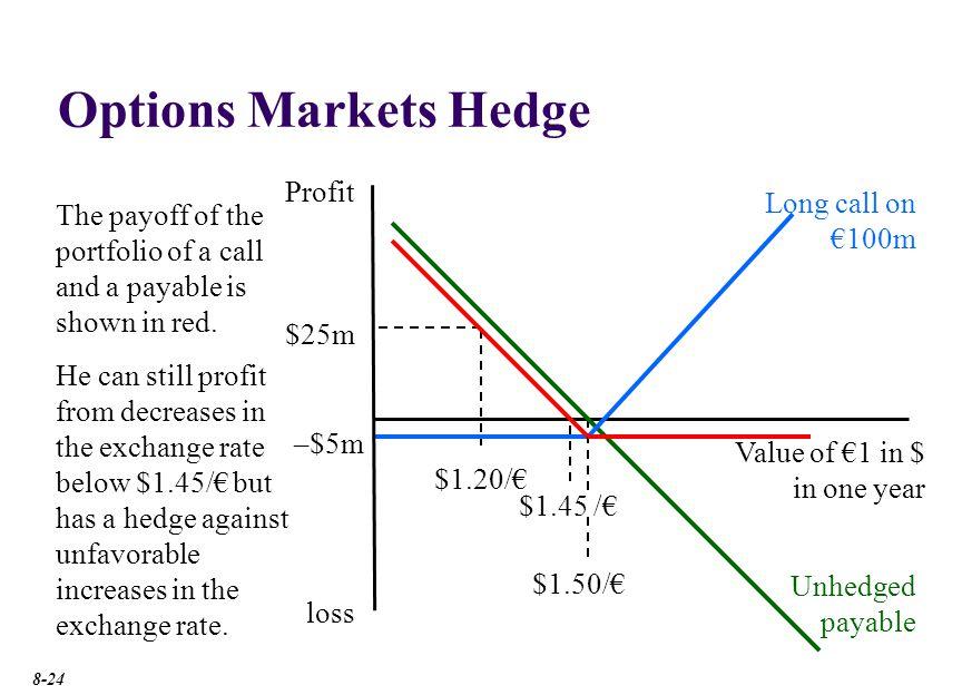 Options Markets Hedge Profit