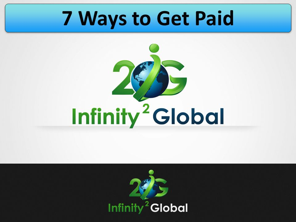 7 Ways to Get Paid