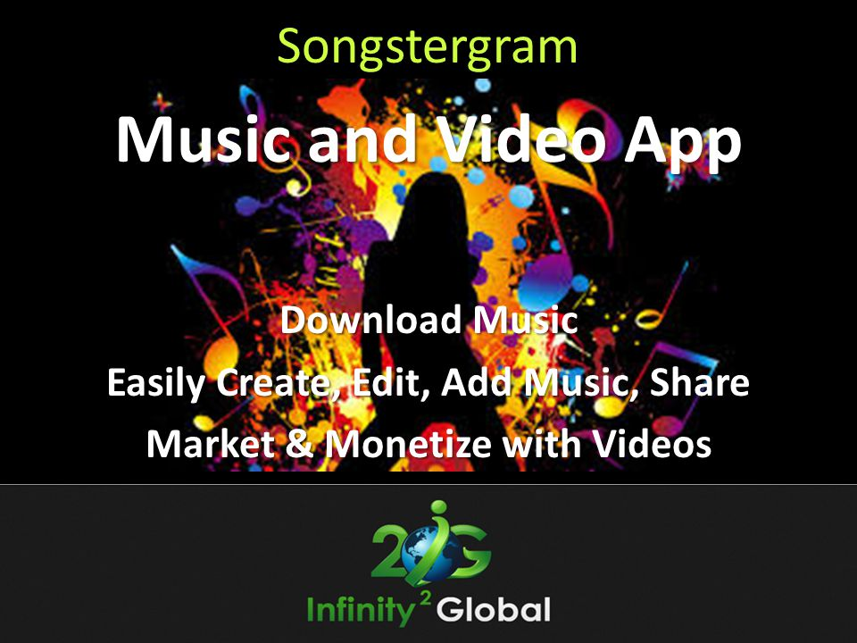 Easily Create, Edit, Add Music, Share Market & Monetize with Videos