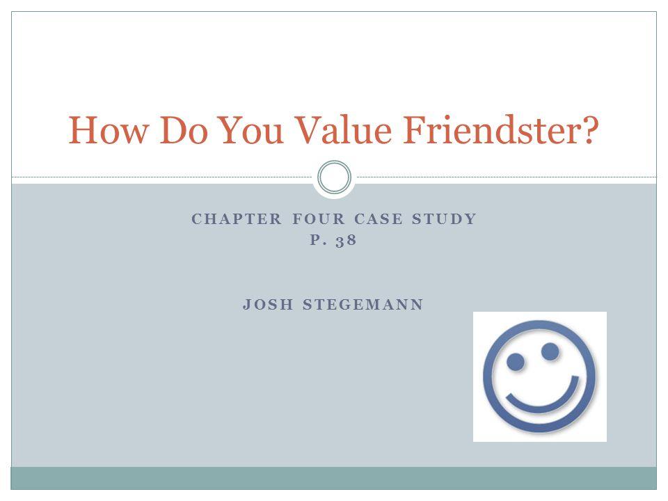 How Do You Value Friendster