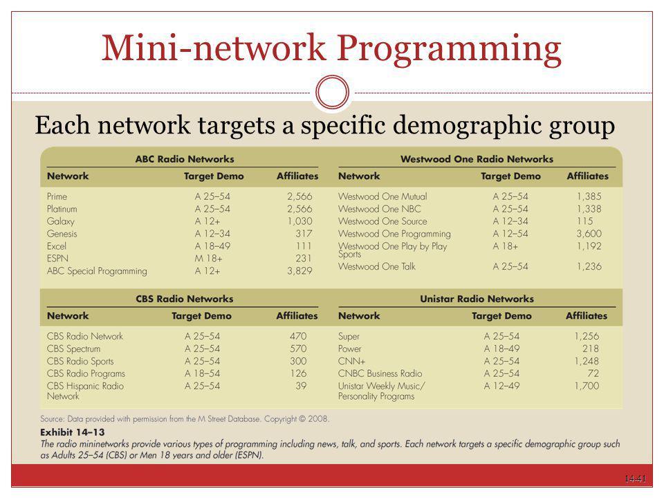 Mini-network Programming