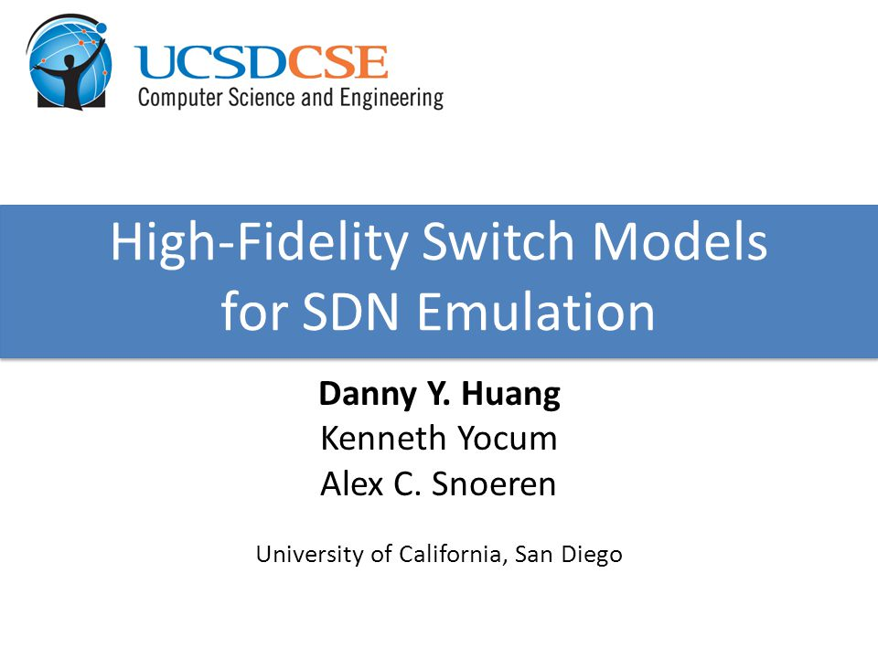 High-Fidelity Switch Models for SDN Emulation