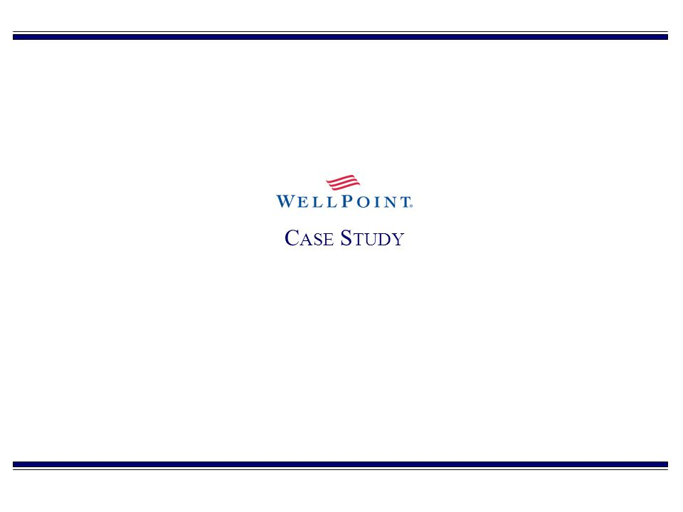 WellPoint: Healthy Investment Outlook