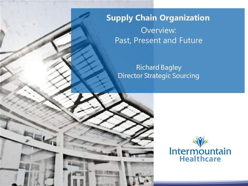 Supply Chain Organization