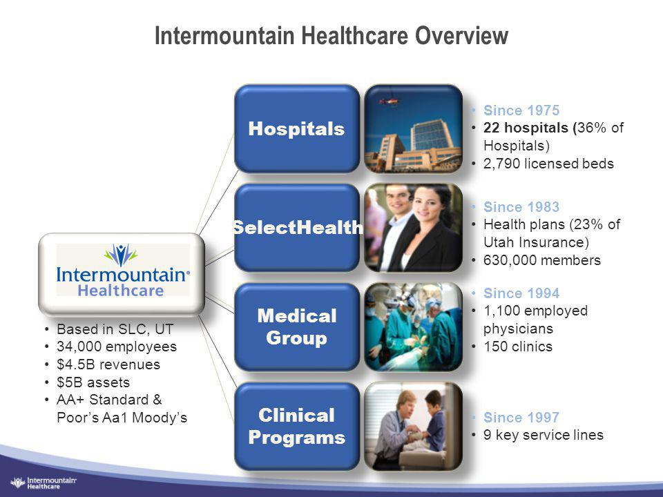 Intermountain Healthcare Overview