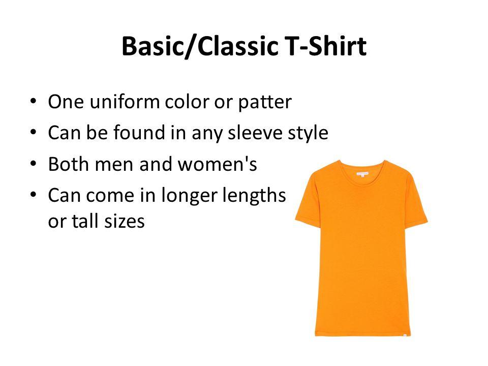 Basic/Classic T-Shirt