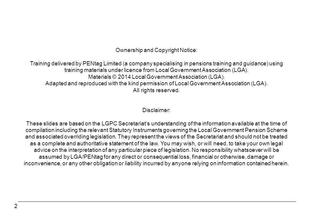 Ownership and Copyright Notice: