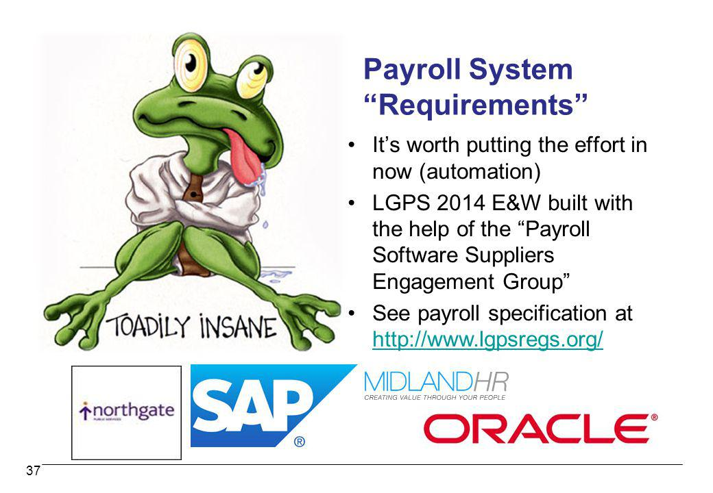Payroll System Requirements
