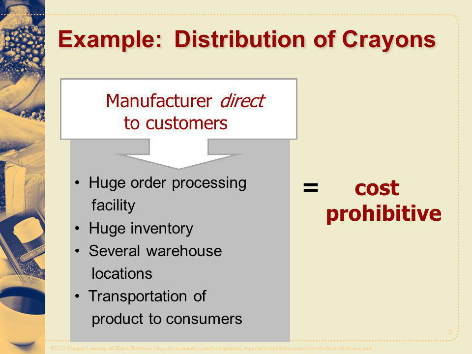 Example: Distribution of Crayons