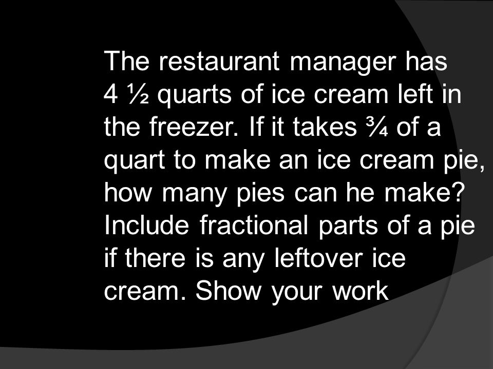 The restaurant manager has