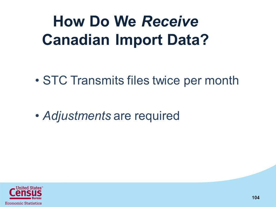 How Do We Receive Canadian Import Data