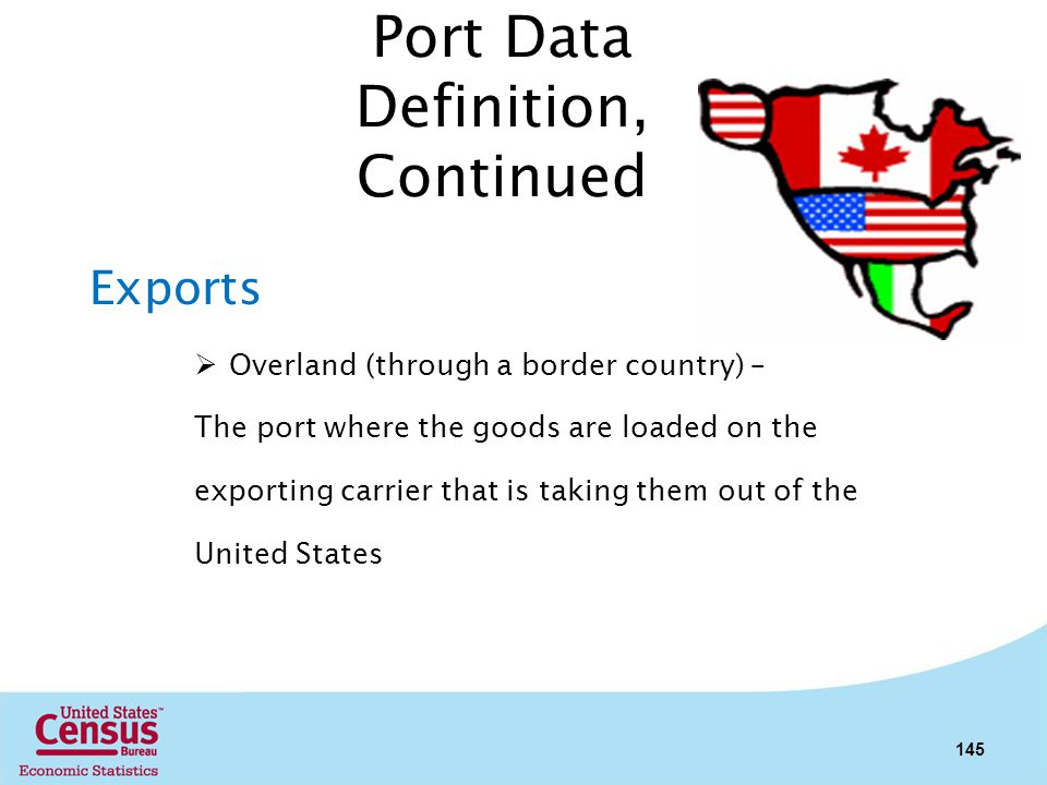 Port Data Definition, Continued