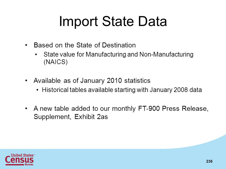 Import State Data Based on the State of Destination