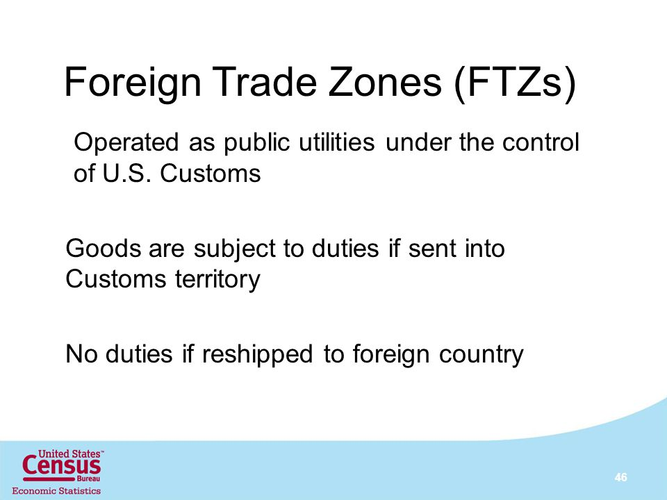 Foreign Trade Zones (FTZs)